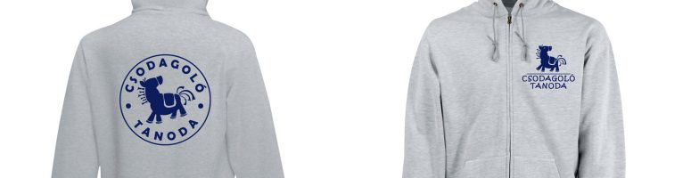 Csodagoló logózott pólók, pulcsik, mellények